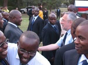 John meeting Pierre Nkurunziza